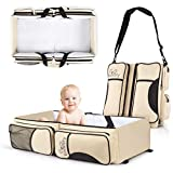 Koalaty 3-in-1 Universal Infant Travel Tote: Portable Bassinet Crib Changing Station and Diaper