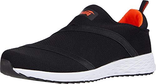 Avia mens Lifestyle Sneaker, Black/F Coral, 12 US
