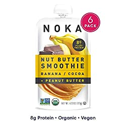 NOKA Superfood Pouches | 100% Organic Fruit And Veggie Smoothie...