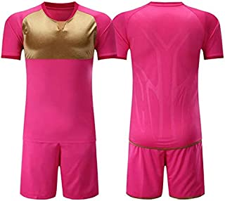 BEESCLOVER Jersey 18-19 New Set Training Suit competitions Training Jersey & Shorts Customized Pink XXL