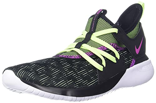 Nike Flex Contact 3, Zapatillas de Atletismo Hombre, Multicolor (Black/Volt Glow/Hyper Violet 1), 44 EU
