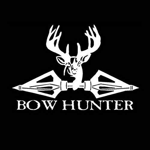 fancjj Jagd Aufkleber Auto Jagd Schießen Bär Buck Bowl Hunter Shop Poster Vinyl Wandtattoos Decor Chase Wandaufkleber 39x58 cm