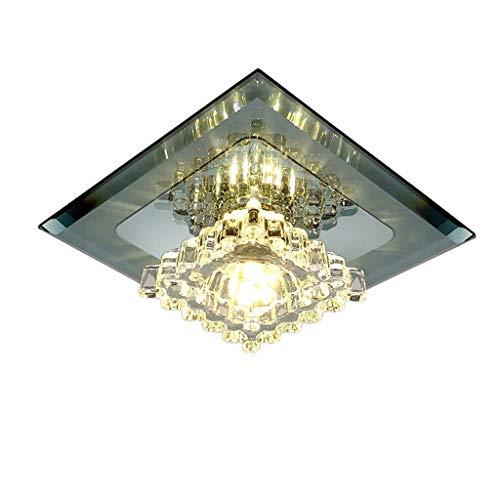 Hal lamp Aisle plafondlamp LightLED kristal 5 W schijnwerper lamp blacklight luxe geïntegreerde lamp gat L