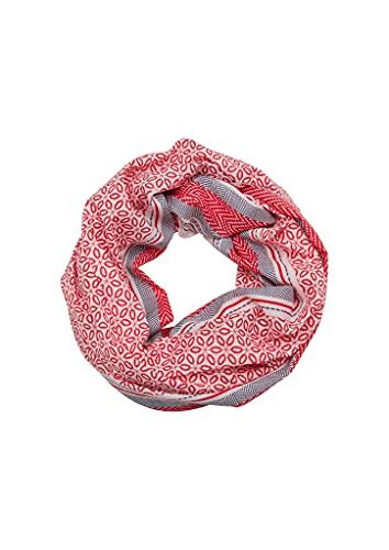 s.Oliver Damen Loop mit Printmuster red AOP 1