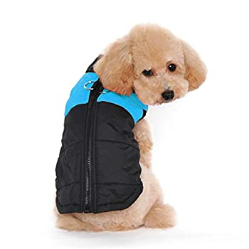 Ectkuee Dog Warm Winter Vest Harnais Veste de Manteau pour Les Petites Moyennes et Grandes Chiens