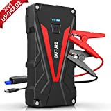 Car Jump Starter, BUTURE 1200A Peak 15800mAh Portable Car Battery Starter (up to 7.0L Gas/6.0L Diesel Engines) Auto Battery Booster Pack with Smart Safety Jumper Cable, QC3.0 USB Outputs