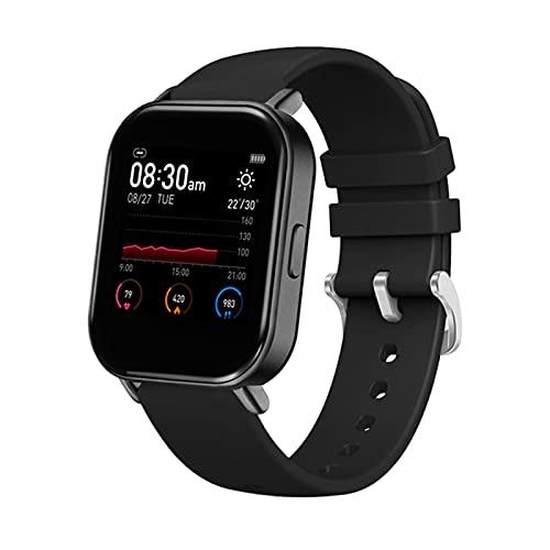 YWS R66 Relojes Inteligentes, Relojes Deportivos A Prueba De Agua IP67 Fitness Fitness Fitness Tracker Temperatura Corporal Monitor De Ritmo Cardíaco P8 Smartwatch para Android iOS,D