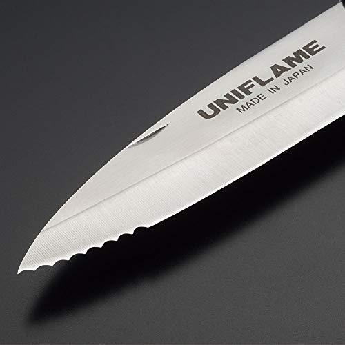 UNIFLAME(ユニフレーム)『ギザ刃キャンプナイフ(No.661840)』