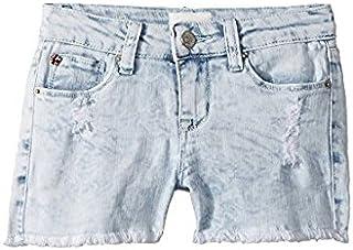 ハドソン Hudson Kids キッズ 女の子 ショーツ ハーフパンツ Bleach Free Love Shorts (Big Kids) 8BigKids [並行輸入品]