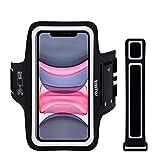 Sportarmband Handy Universal, EOTW Armtasche Kompatibel mit iPhone 11/11 Pro Max/XR/XS Max Huawei P20 Pro/P30 Pro/Mate 30 Samsung Galaxy S20/S10/Note 10 Handytasche für Joggen Running (5''-6,7