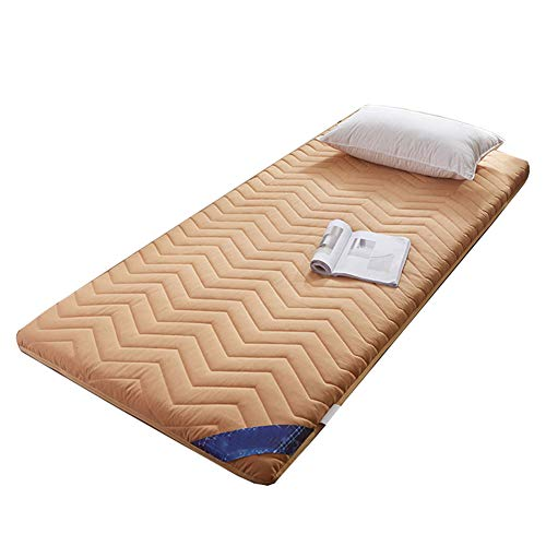 Best Deals! Allyine Thicken Floor Mattress, Japanese Traditional Futon, Portable Camping Wool Wrap M...