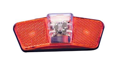 FISCHER Batterie- Rücklicht für MTB- Gepäckträger