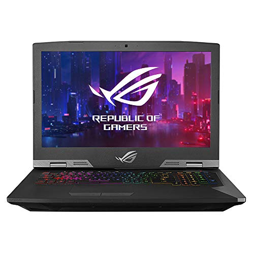 "ROG G703GX Desktop Replacement Gaming Laptop, GeForce RTX 2080, Intel Core i9-8950HK Processor, 17.3"" Full HD 144Hz 3ms G-SYNC, 16GB DDR4, 512GB PCIe SSD, RGB, Windows 10 Pro - G703GX-PS91K"