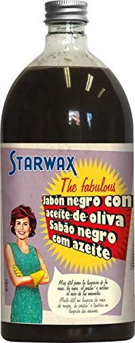 Starwax The Fabulous Jabón Negro 1Litro - Limpiador Multiusos, Desengrasante, Friegasuelos y Quitamanchas