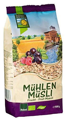 Bohlsener Mühle Bio Mühlen Müsli Frucht (6 x 500 gr)