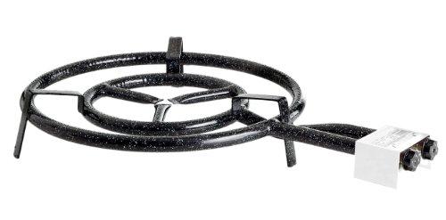 Paella World International Paella-Gasringbrenner, 2-Ring, Schwarz, Ø 50 cm