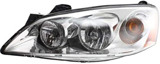 Headlight Assembly Compatible with 2005-2010 Pontiac G6 Halogen Driver Side