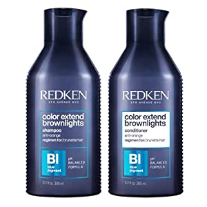 Color Extend Brownlights Shampoo & Conditioner 300ml Duo by Redken