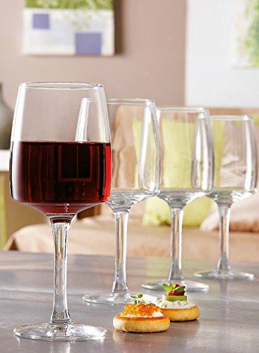Luminarc 7276010 Verres à Pied Vin Verre Transparent 24 Cl Lot de 6