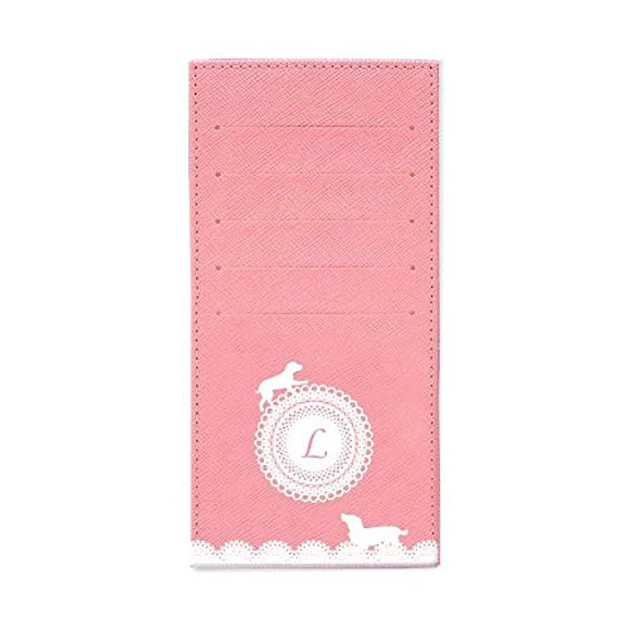 擬人化アフリカ嵐が丘インナーカードケース 長財布用カードケース 10枚収納可能 カード入れ 収納 プレゼント ギフト 3016レースネーム ( L ) パウダーピンク