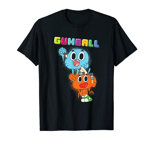 The Amazing World of Gumball Gumball Spray Maglietta