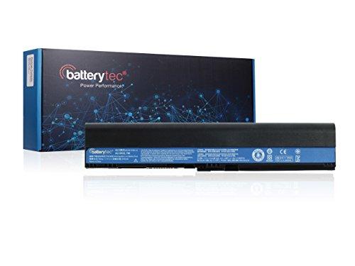 Batterytec® Batterie pour Acer Aspire One 725 756 V5-171, Acer TravelMate B113 B113M B113-M, Acer C7 C710 Chromebook, AL12X32 AL12A31 AL12B31 AL12B32. [11.1V 4400mAh, 12 Mois de Garantie]