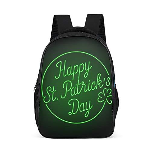 Fineiwillgo - Zaino da trekking per uomo, motivo: St. Patrick es Day