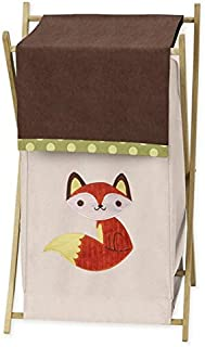 Sweet Jojo Designs Baby/Kids Clothes Laundry Hamper for for Forest Friends Animal Bedding