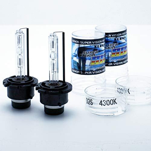 Lot de 2 ampoules D2S HID Xenon 35 W Blanc 4300 K 3200 lm