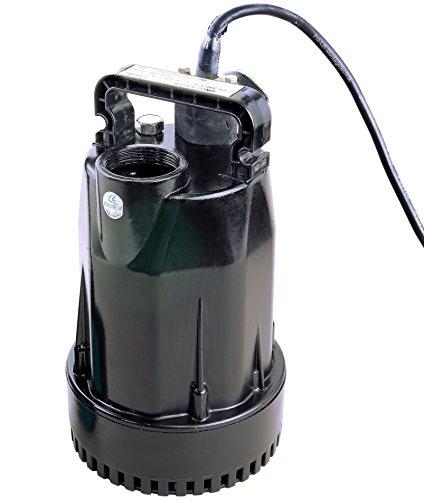 Pro-Lift-Werkzeuge Tauchpumpe 180W Gartenpumpe 10000l/h Wasserpumpe 230V Bilgepumpe Brunnenpumpe 10m³/h Aquarium elektrische Pool-Pumpe
