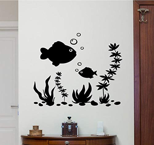 Muursticker 57 x 47 cm vis nautische applicatie kan Pvc-behang Beweven Home Decoration Modern Waterdicht zelfklevende kunst creatieve DIY