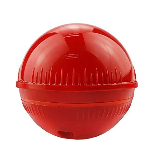 XIWAN Bluetooth Fischfinder 48m / 160ft Eisfischen Sonar Sounder Tragbare Englisch/Russisch Sprache Fischfinder sonda de Pesca (Color : Red)