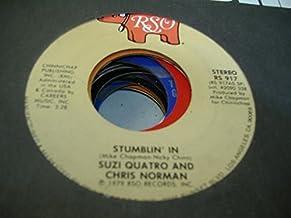 SUZI QUATRO AND CHRIS NORMAN 45 RPM Stumblin' In / A Stranger To Paradise