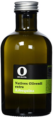 O de Oliva Extra Virgen Olive Oil Arbequina, Natives Olivenöl von der Sorte, 1er Pack (1 x 500 ml)