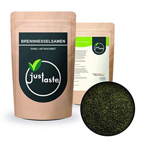2 kg Brennnesselsamen | Aus Wildsammlung naturbelassen | Vegan | Rohkost | justaste Qualität | Brennessel Samen ganz | 2000 g