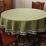 PhantasyIsland.com Mantel Rectangular, Mantel a Prueba de Manchas para la decoración de la Mesa de la Coci240CM
