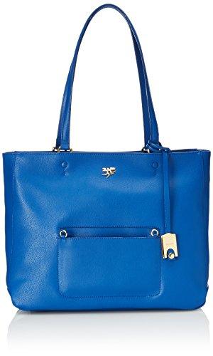 piero guidi Bag, Borsa Tote Donna, Blu (Blu Cobalto), 35x28x13 cm (W x H x L)