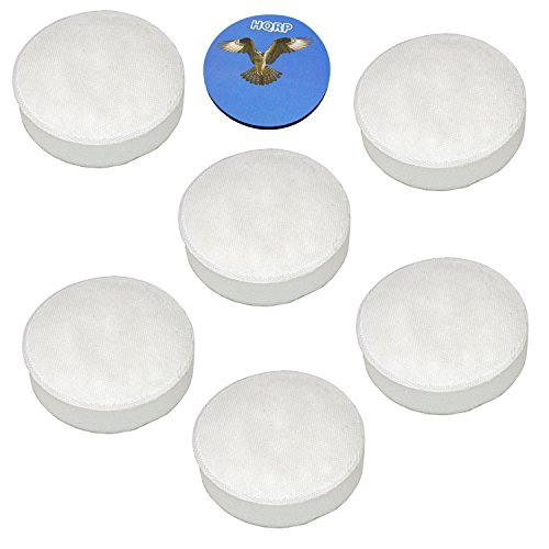 HQRP Linx Foam Filter 6-Pack compatible with Hoover 410044001 001331007 902185003 562161003 Platinum LiNX BH50010 BH50015 BH50030 BH50010CA CH20110 Vac-Di Cordless Stick Vac Vacuum Cleaner Microfilter