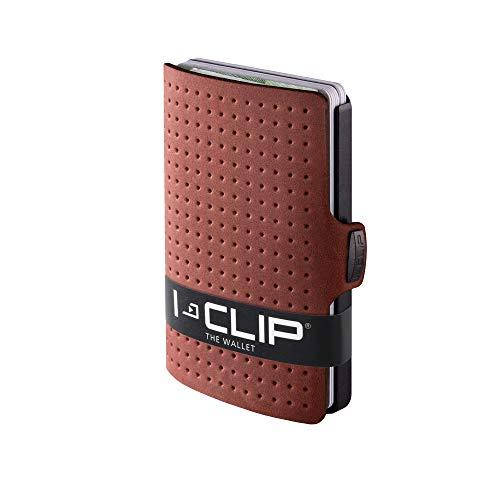 I-CLIP ® Cartera AdvantageR Roble, Gunmetal-Black (Disponible En 8 Variantes)