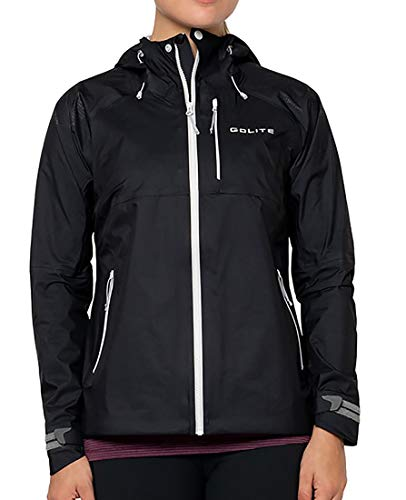GoLite Damen Pinnacle Pro 3-Layer Rain Jacket Regenjacke, schwarz, X-Large