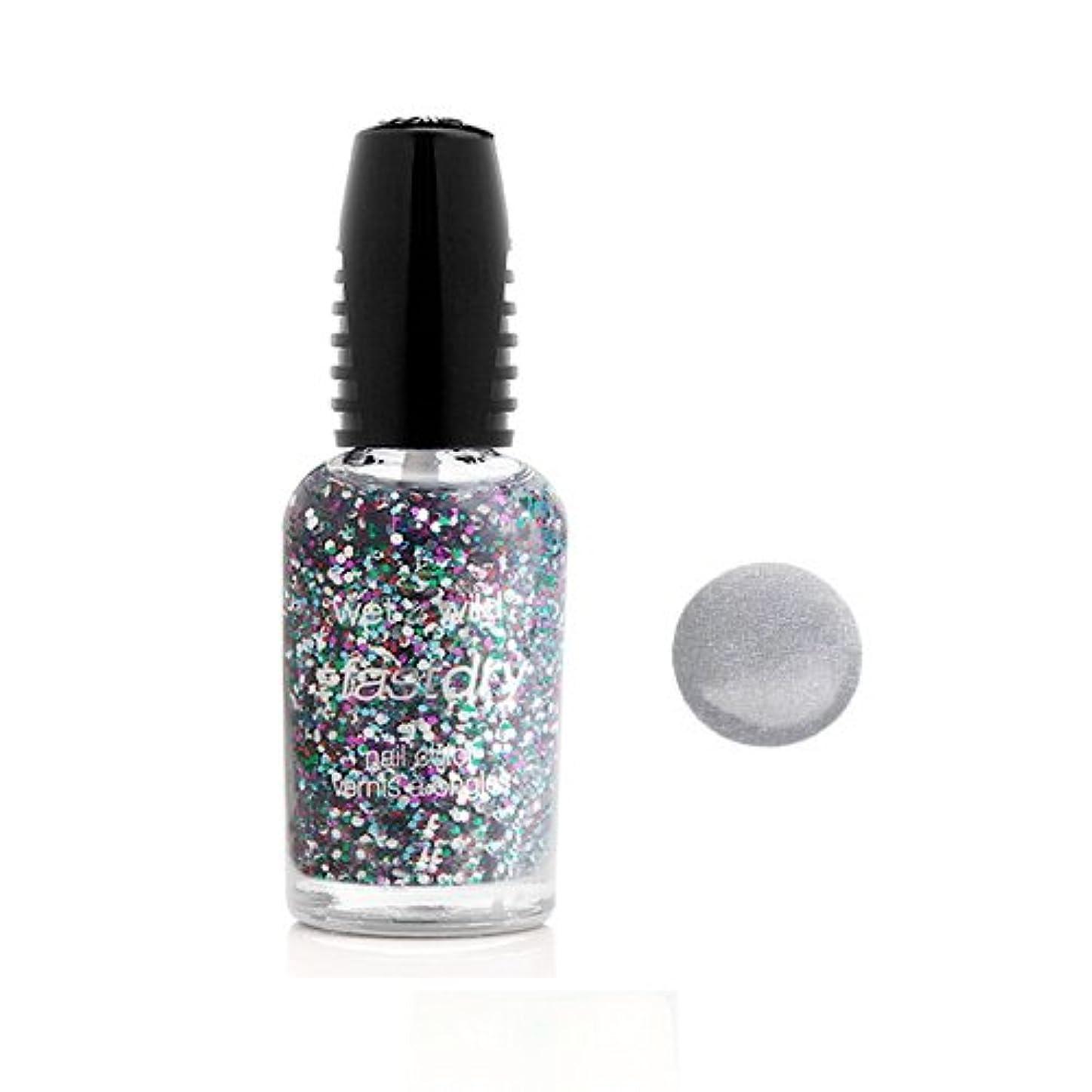 関税話をする全能WET N WILD Fastdry Nail Color - Silvivor (並行輸入品)