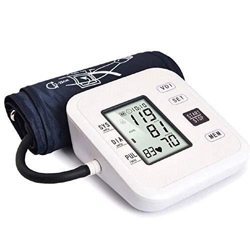 Tensiómetros de Brazo Monitor De Presion Arterial - Brazo Tipo Recargable Digital Inteligente De La Salud Cuidado del Hogar Esfigmomanómetro