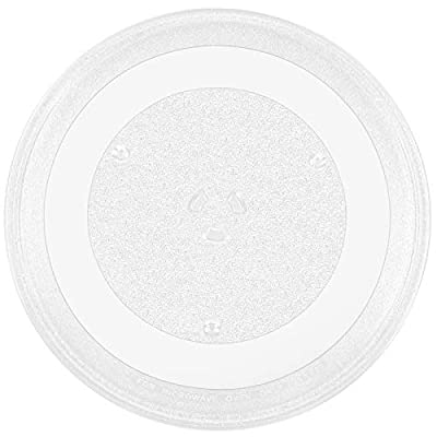 Beaquicy WB39X10032 Microwave Glass Turntable Tray Plate 13.5 Inches - Replacement for GE Hotpoint Microwave - 13 1/2 inches