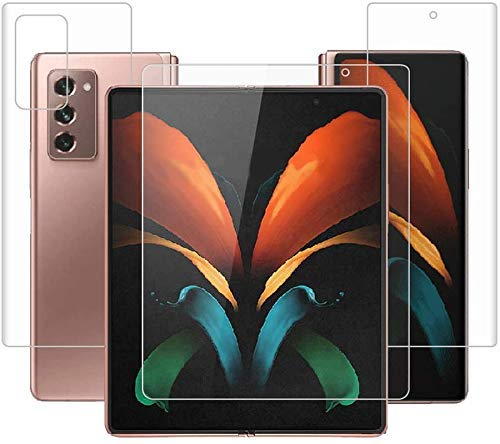 Mindmaker 360 Degree Screen Protector Unbreakable Membrane for Samsung Galaxy Z Fold2 5G / Samsung Galaxy Fold 2 5G (3 Parts)