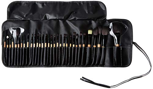 Beauty Bon?Professional 32 Pcs Makeup Brush Set Black Kit with Pouch by Beauty Bon????????