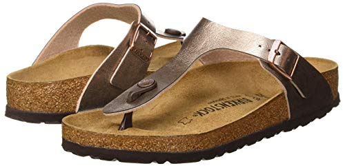 BIRKENSTOCK Women's Flip Flop Sandals Mule, Graceful Taupe, 8 us