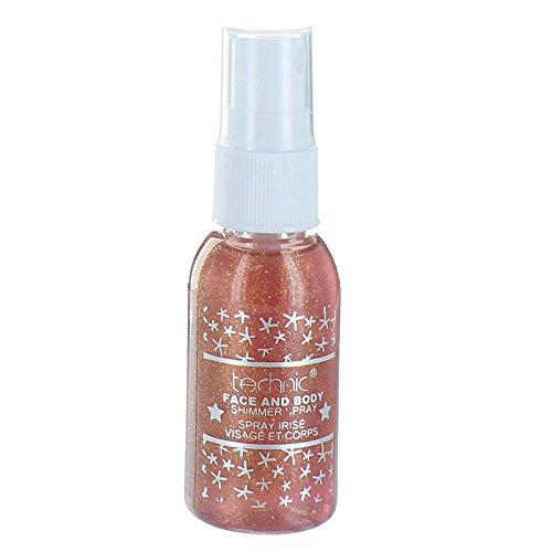 Technic Face & Body Shimmer Spray 30ml-Orange