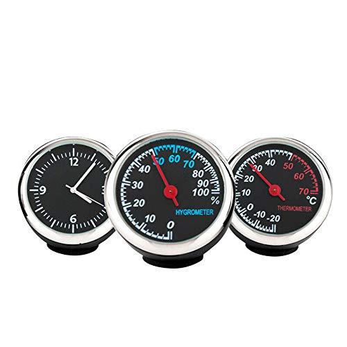 LanCo Bright Auto Auto digitale Kristall mechanische Uhr/Thermometer/Feuchtigkeitsmesser