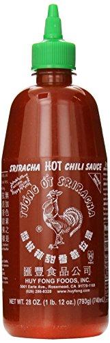 Huy Fong Sauce Chili Sriracha Hot, 28 Oz. Pack of 6