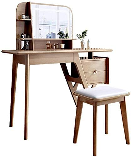 WANGLX Makeup Desk with Drawers for Vanity Max 89% OFF Selling rankings Set Table Bedroom wit